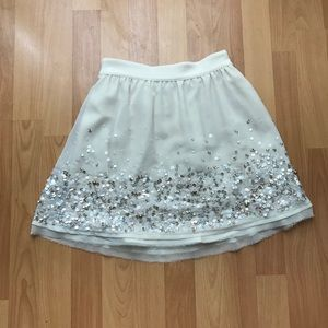 Urban Outfitters Kimchi Blue sequin Skirt